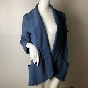 Wilfred Chevalier Blazer 10 Blue Open front Pocket